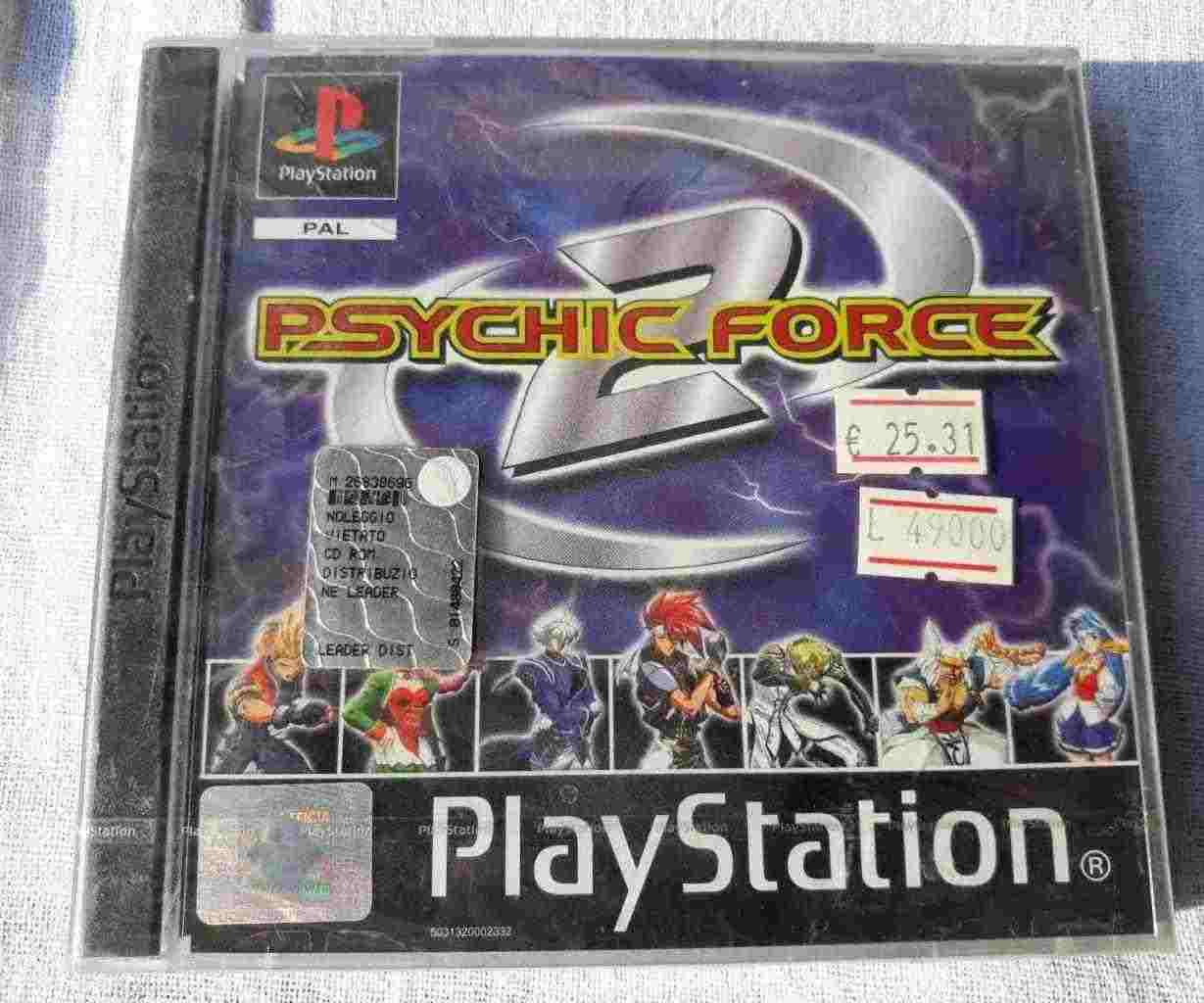 PlayStation PS1 PSOne PSX SONY PAL NUOVO PSYCHIC FORCE 2 SLES 02557