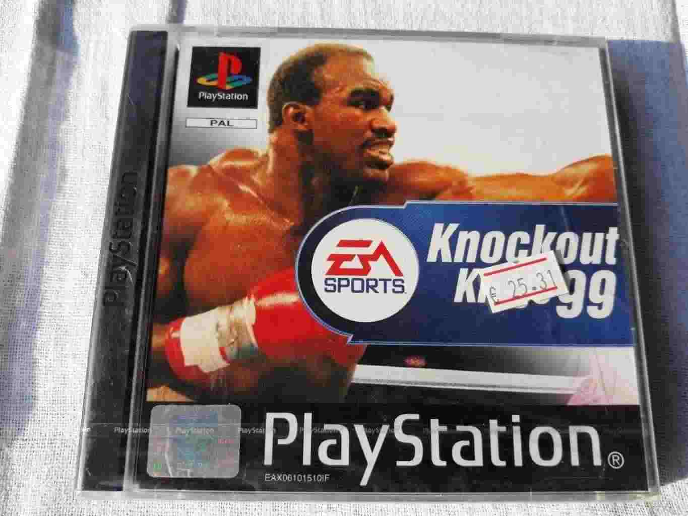 PlayStation PS1 PSOne PSX SONY PAL NUOVO KNOCKOUT KINGS 99 SLES 01448