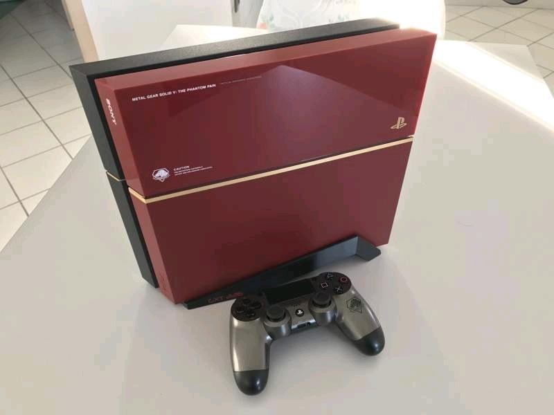 Playstation 4 metal gear solid 4 edition molybdeum