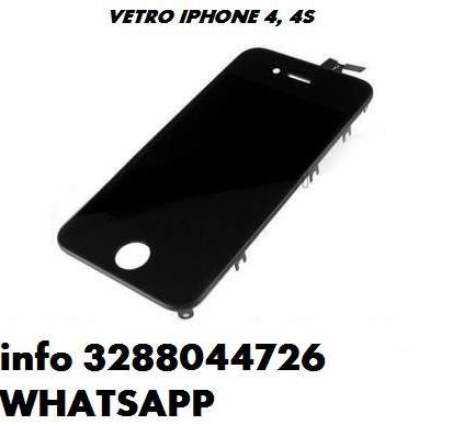 Vetro iphone 4 4g 4s touch screen + cornice tutti i colori