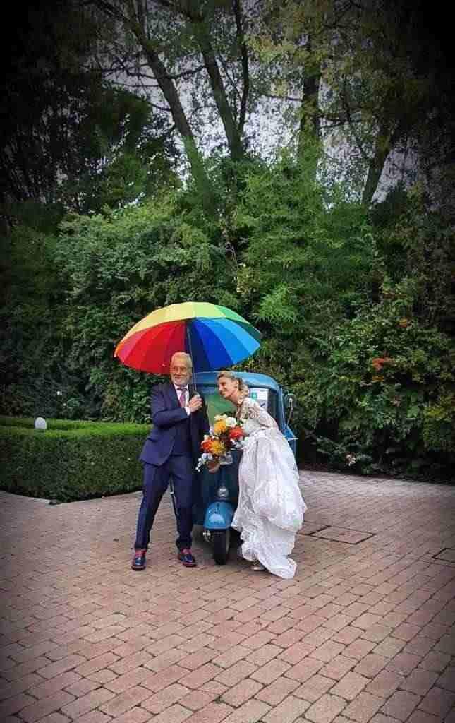 Noleggio Ape Piaggio per matrimonio