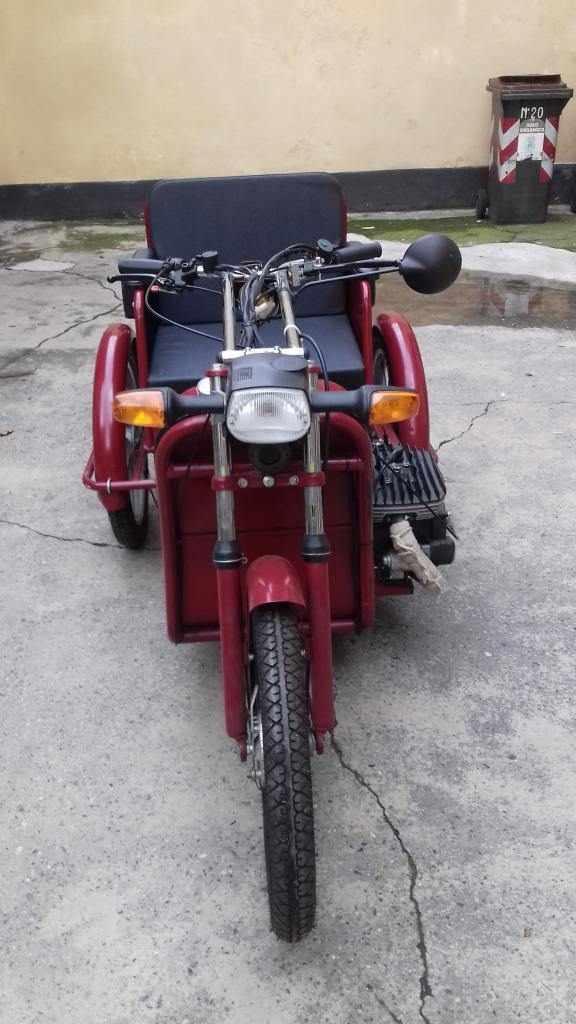 motocarrozzella per invalidi