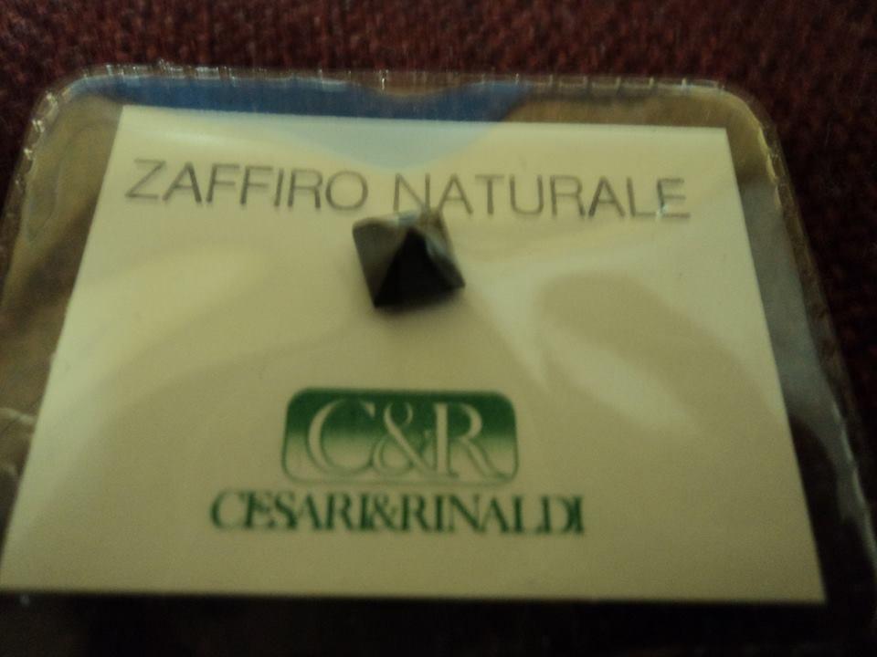 ZAFFIRO NATURALE in blister