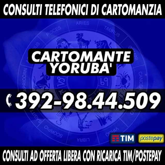 Cartomanzia telefonica - Consulto prepagato con offerta libera