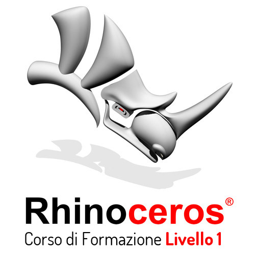 Corso Rhinoceros 3D Livello I Certificato McNeel Firenze 500€