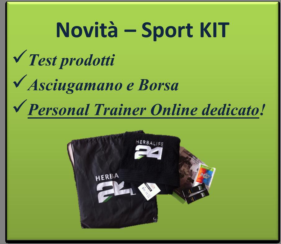 performance al top kit per lo sportivo personal trainer on-line gratuito