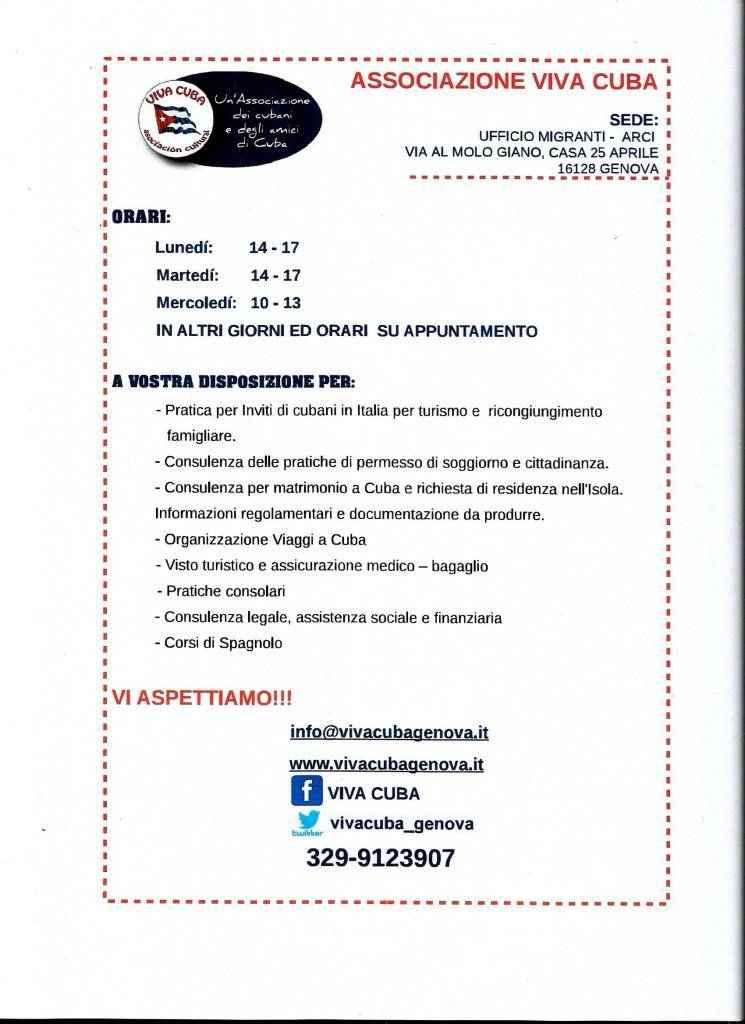 Inviti di Cubani in Italia