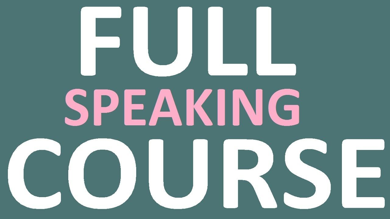 English Speaking and Fluency Course con Docente Madrelingua