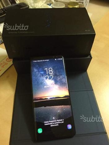 Samsung Note 8 dual sim colore nero garanzia Italia 100%