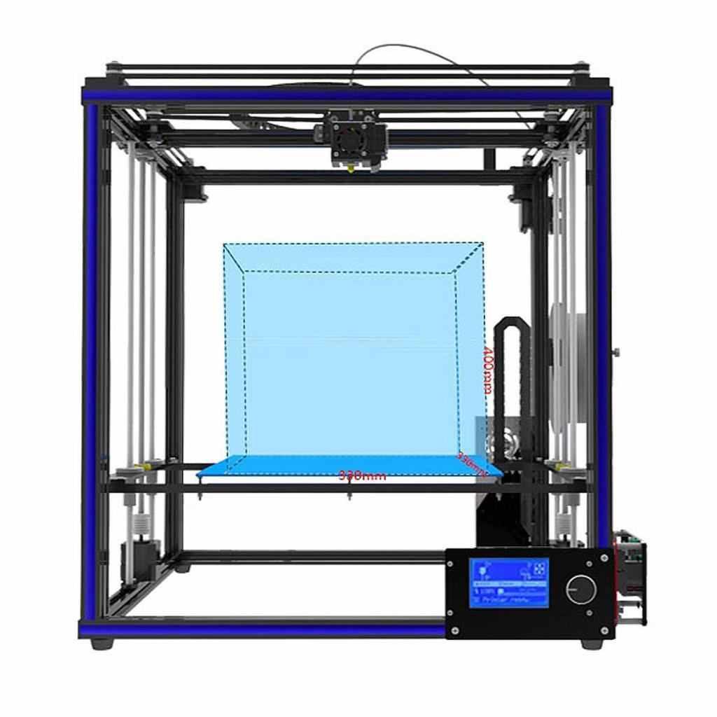 Tronxy X5S Alta Precisione Stampante 3D - Telaio in Alluminio - NERO