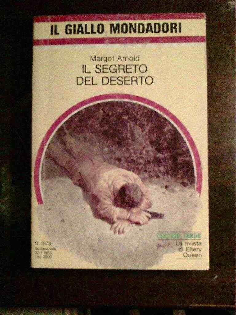 Margot Arnold - IL segreto del deserto