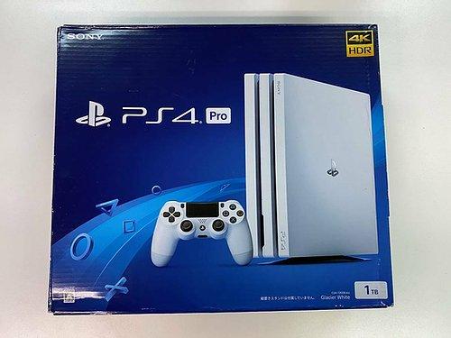 Sony PLAYSTATION (R) 4 PS4 Pro Gioco Console Ghiacciaio Bianco HDD 1TB