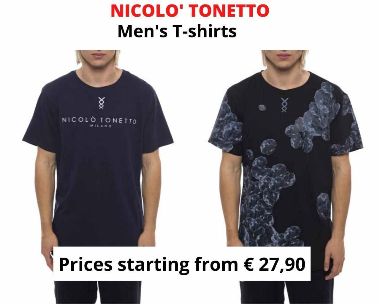 STOCK T-SHIRT UOMO NICOLO' TONETTO