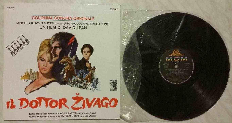 33 GIRI VINILE MAURICE JARRE - IL DOTTOR ZIVAGO, COLONNA SONORA ITA 1966