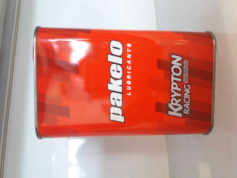 OLIO MOTORE PAKELO KRYPTON  RACING 10W-60  5W-50