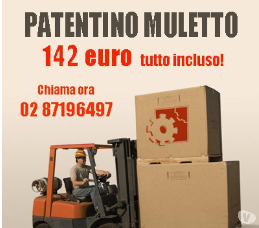 Patentino Muletto con Azienda Sicura a soli 142€
