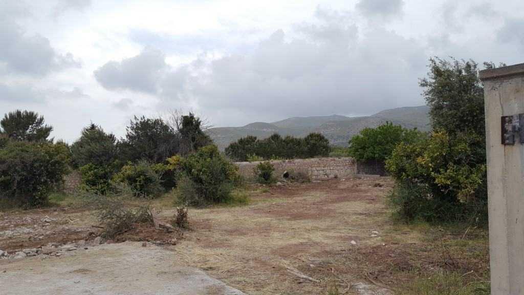 stacco di terreno agricolo in periferia