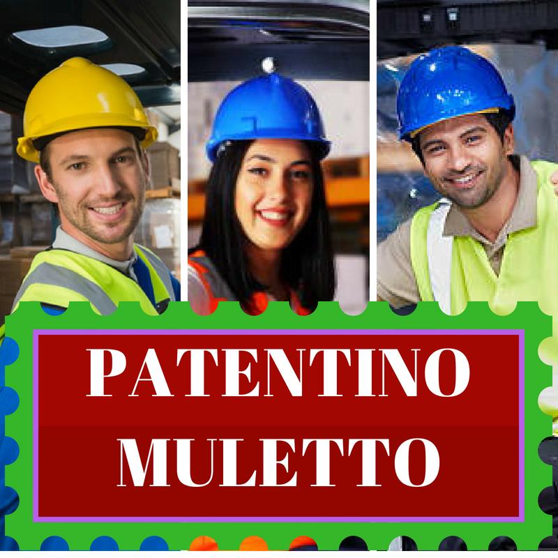 Patentino Muletto a Parma