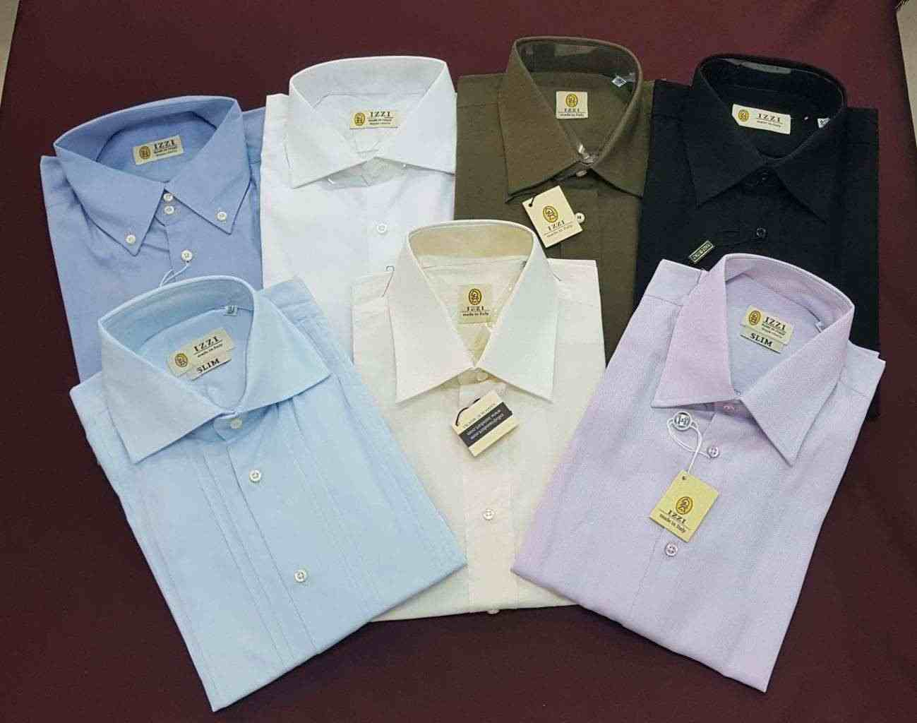 Stock Camicie sartoriali uomo