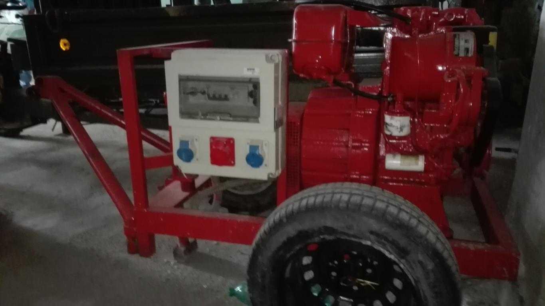 Vendo generatore Ruggerini 220v/380v usato