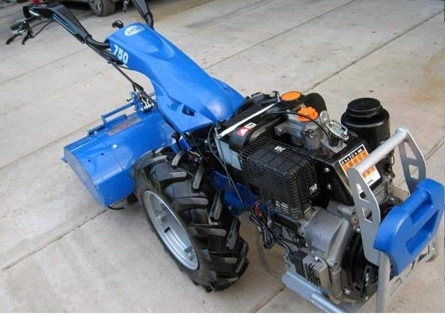 Motocoltivatore professionale BCS 750 Motore Lombardini 12CV