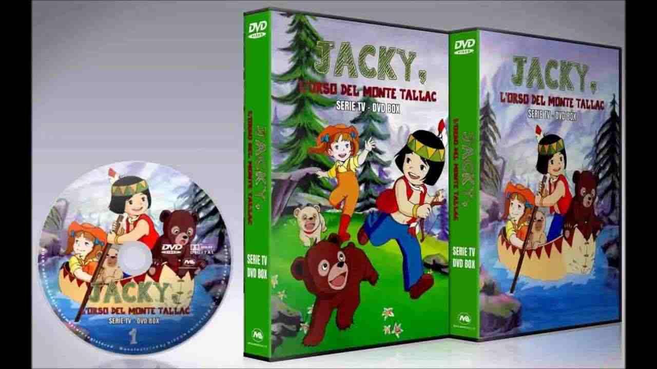 Jacky l'orso del monte Tallac tutta la serie completa in dvd