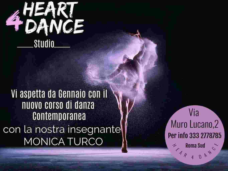 Corso di danza contemporanea a #Roma