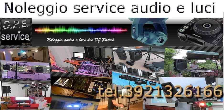 Noleggio Attrezzatura Audio & Luci