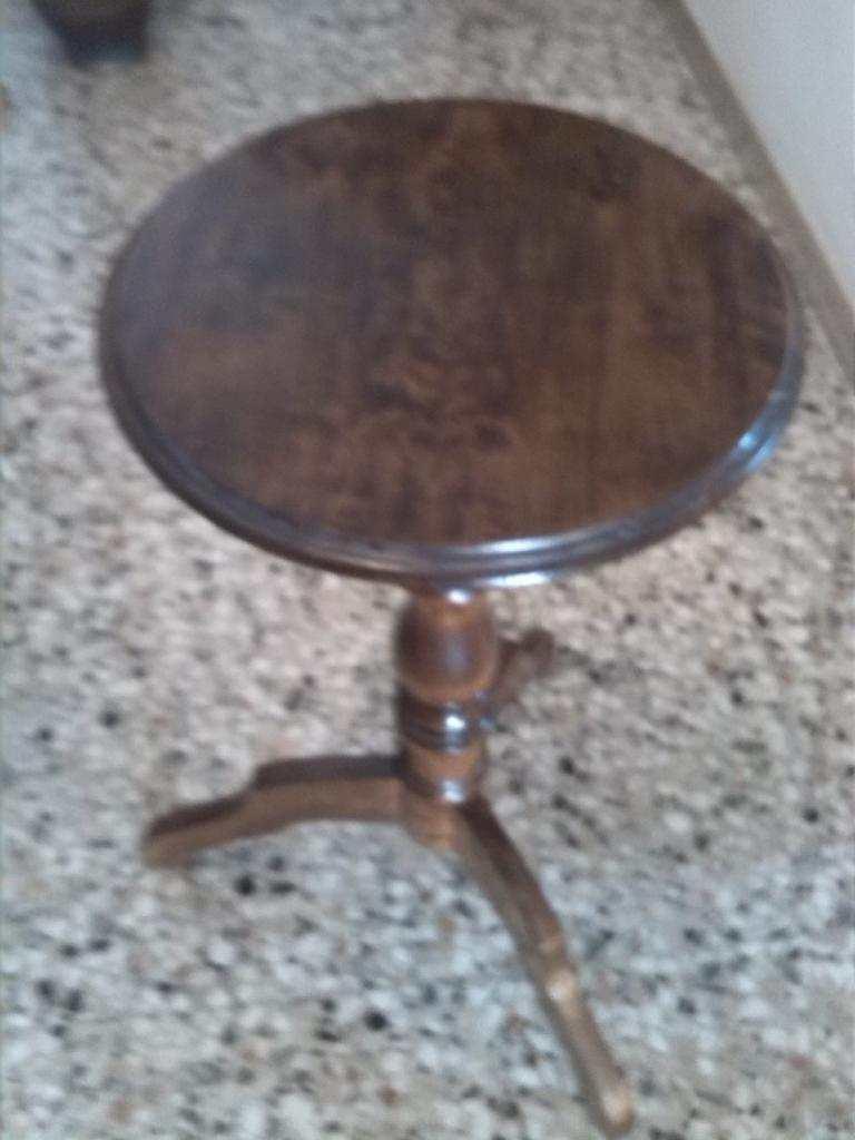 tavolino in pioppo tardo 8005