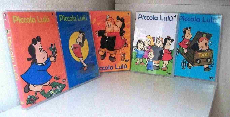 Piccola Lulù serie animata completa in 5 box dvd