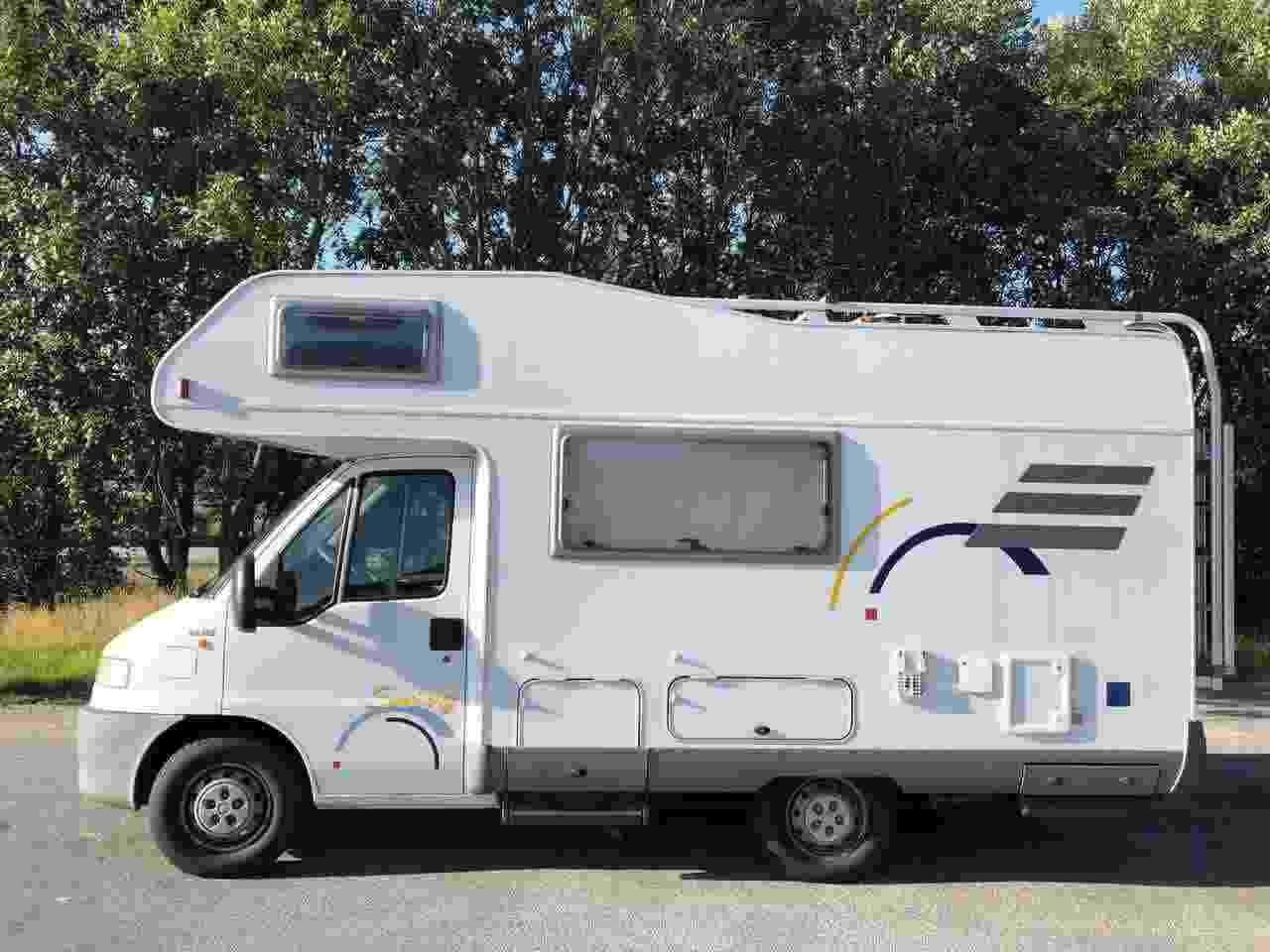 Vendo mio  Camper Hymer swing 544