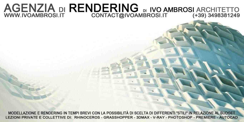 RENDERING e LEZIONI . 3D MAX RHINOCEROS