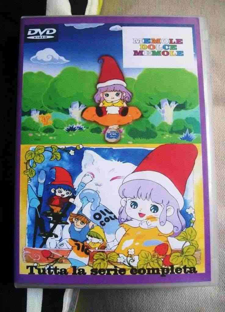 Memole serie animata completa in box dvd