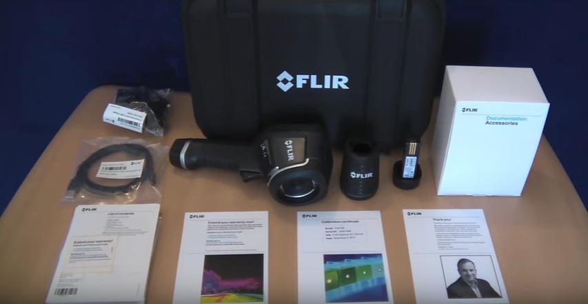 Termocamera Camera Termografica FLIR E8 con MSX e Wi-Fi