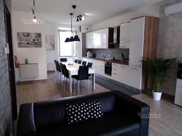 Appartamento grande e arredato a nuovo 110 mq