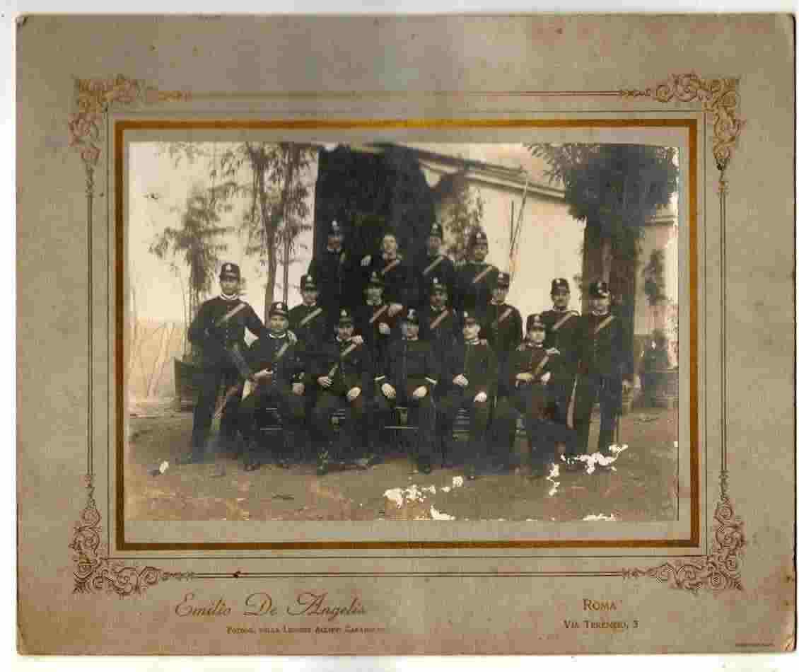 Fotografia della Legione Allievi Carabinieri - Emilio De Angelis