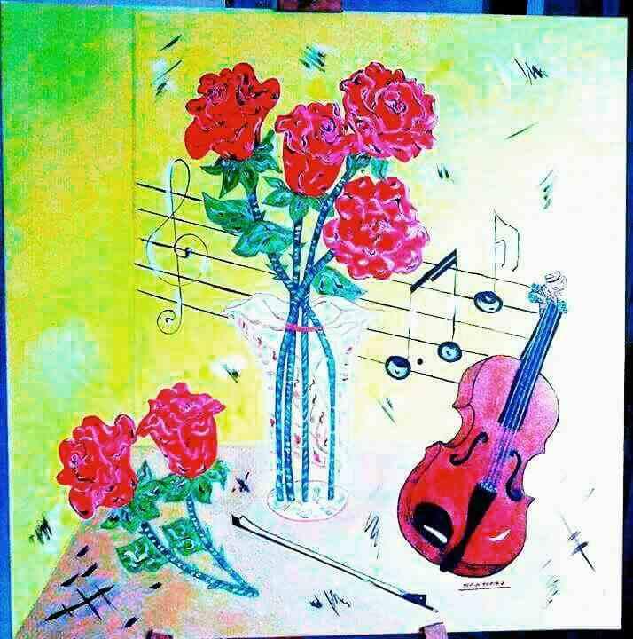 Dipinti su tela realizzati a mano senza cornici molto creativi