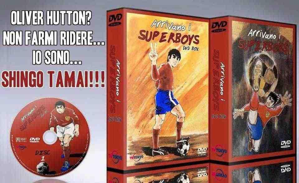 Arrivano i Superboys tutti gli episodi completi in dvd