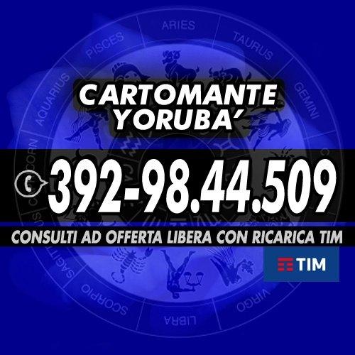 Cartomanzia telefonica alla portata di tutti (OFFERTA LIBERA): Cartomante YORUBA'