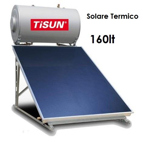 """&quotNovità"""" Solare termico da 160lt per monolocali o piccole abitazioni  SENZA CONTOTERMICO"""