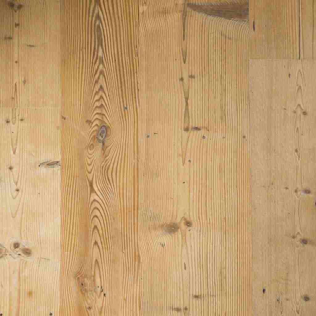 Pavimento di legno antico in abete