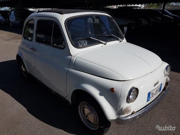 Bella Fiat 500 d epoca 1971