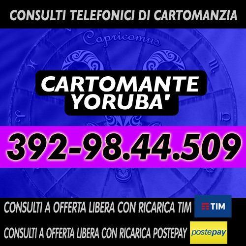 LA VERA CARTOMANZIA E' QUELLA A OFFERTA LIBERA - CARTOMANTE YORUBA