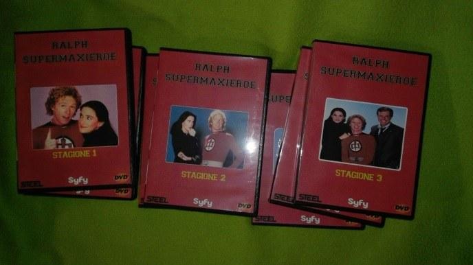Ralph Supermaxieroe serie TV completa in dvd