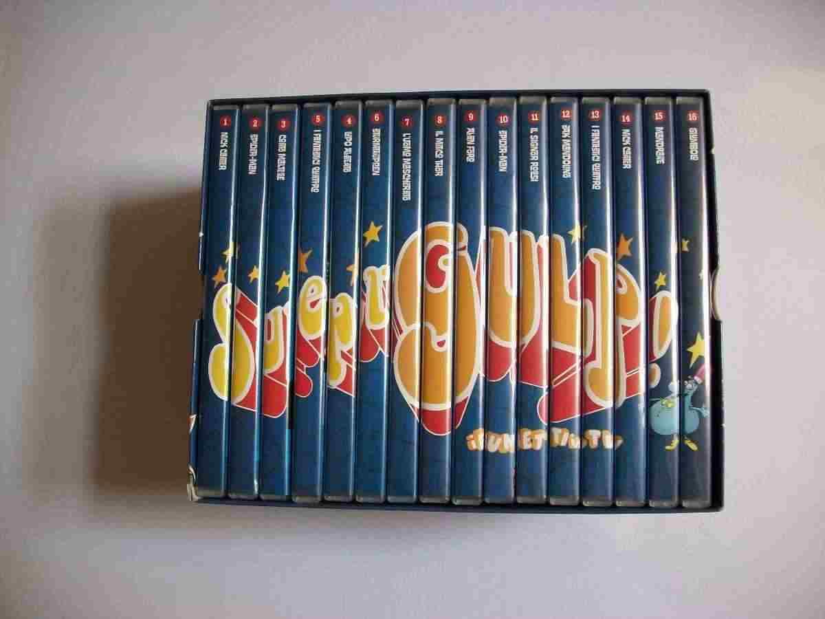 Supergulp cofanetto originale completo 16 dvd