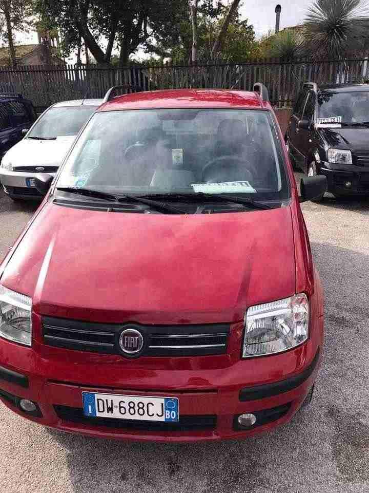 Fiat Panda Colore Rossa 2009