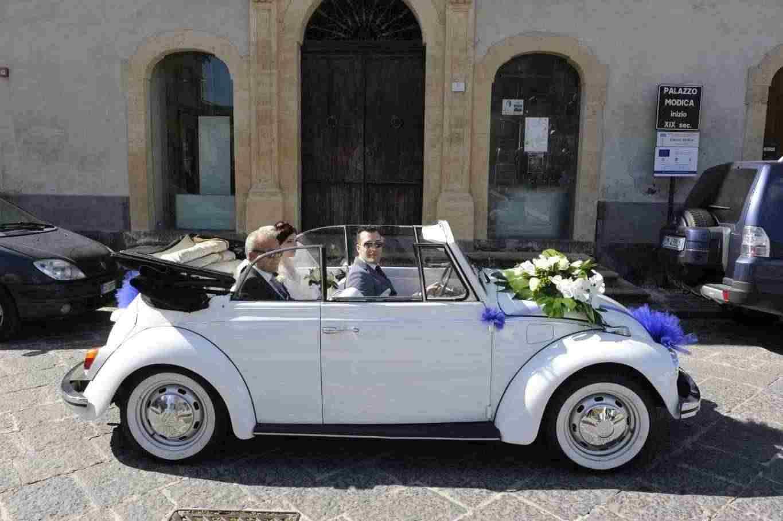 Auto Sposi d'Epoca 1960