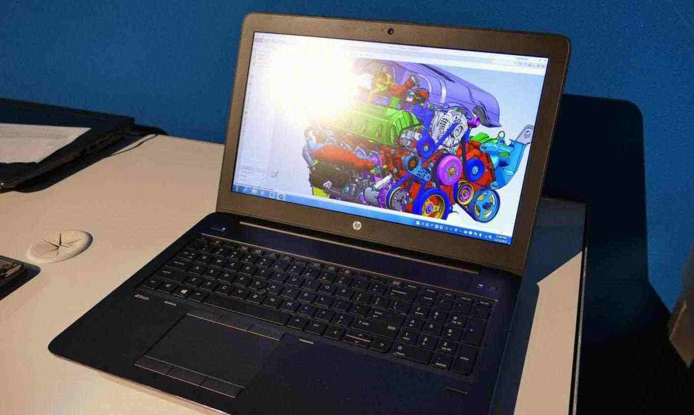 """WORKSTATION 15.6"""" HP ZBOOK 15 FULL.HD QUADRO NOTEBOOK"""