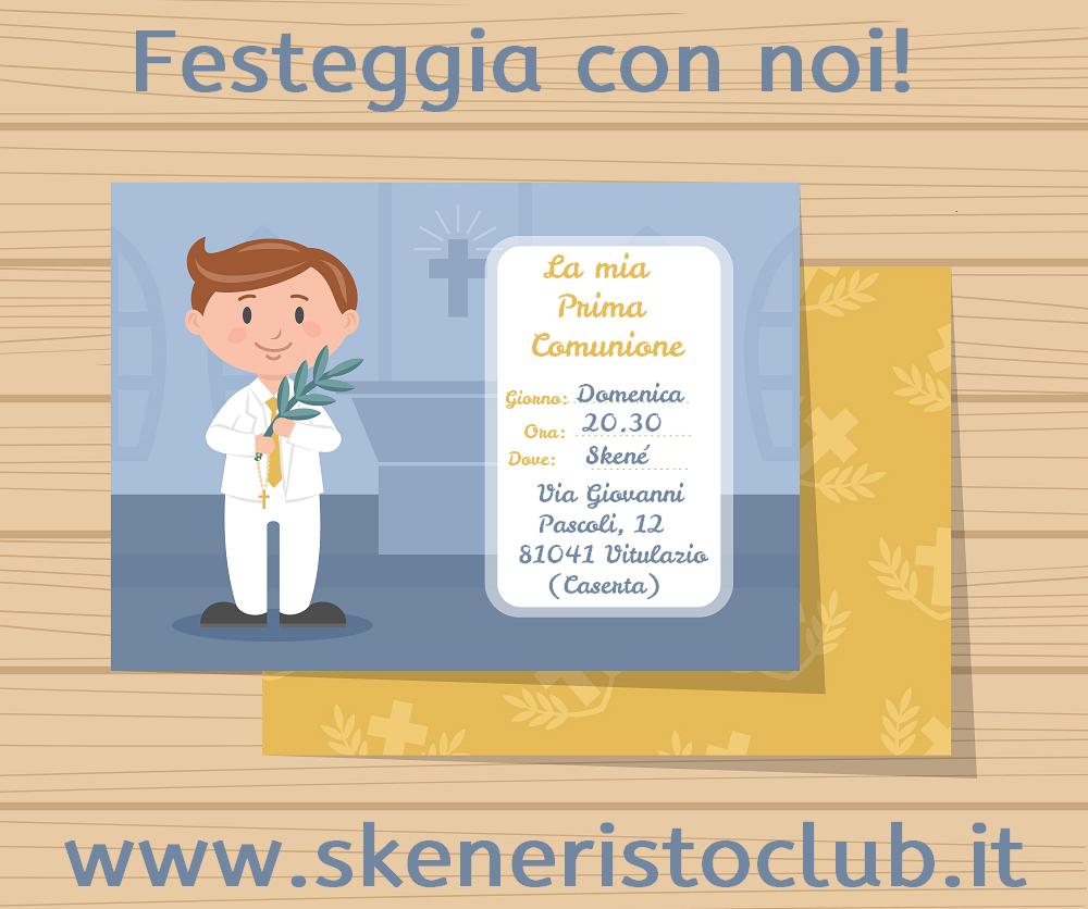 Festa Prima Comunione a Vitulazio (Caserta) presso lo Skenè Risto Club
