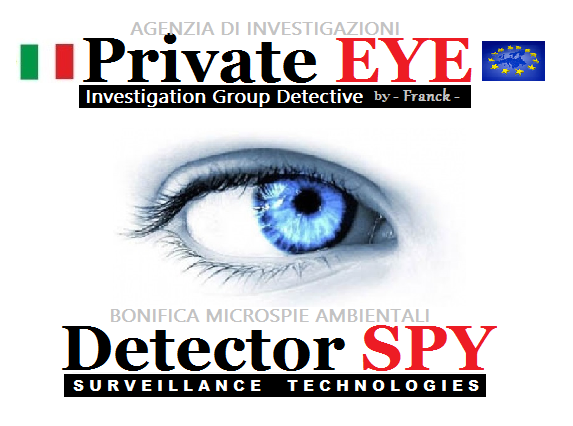 Agenzia Investigativa Private EYE Group - BONIFICA MICROSPIA AMBIENTALE